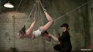 Rope Suspension And Orgasms – HT